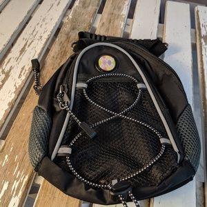 CMC mini day golf bag tote pack back backpack blac